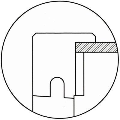 画像1: マットキープ T型 ホウ材 ドイツ箱 5箱セット